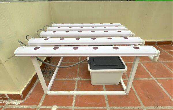 Hệ thống thủy canh dạng bàn (5 ống 1m)