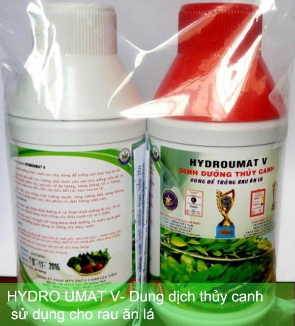 Những loại dung dịch dinh dưỡng thủy canh thường dùng